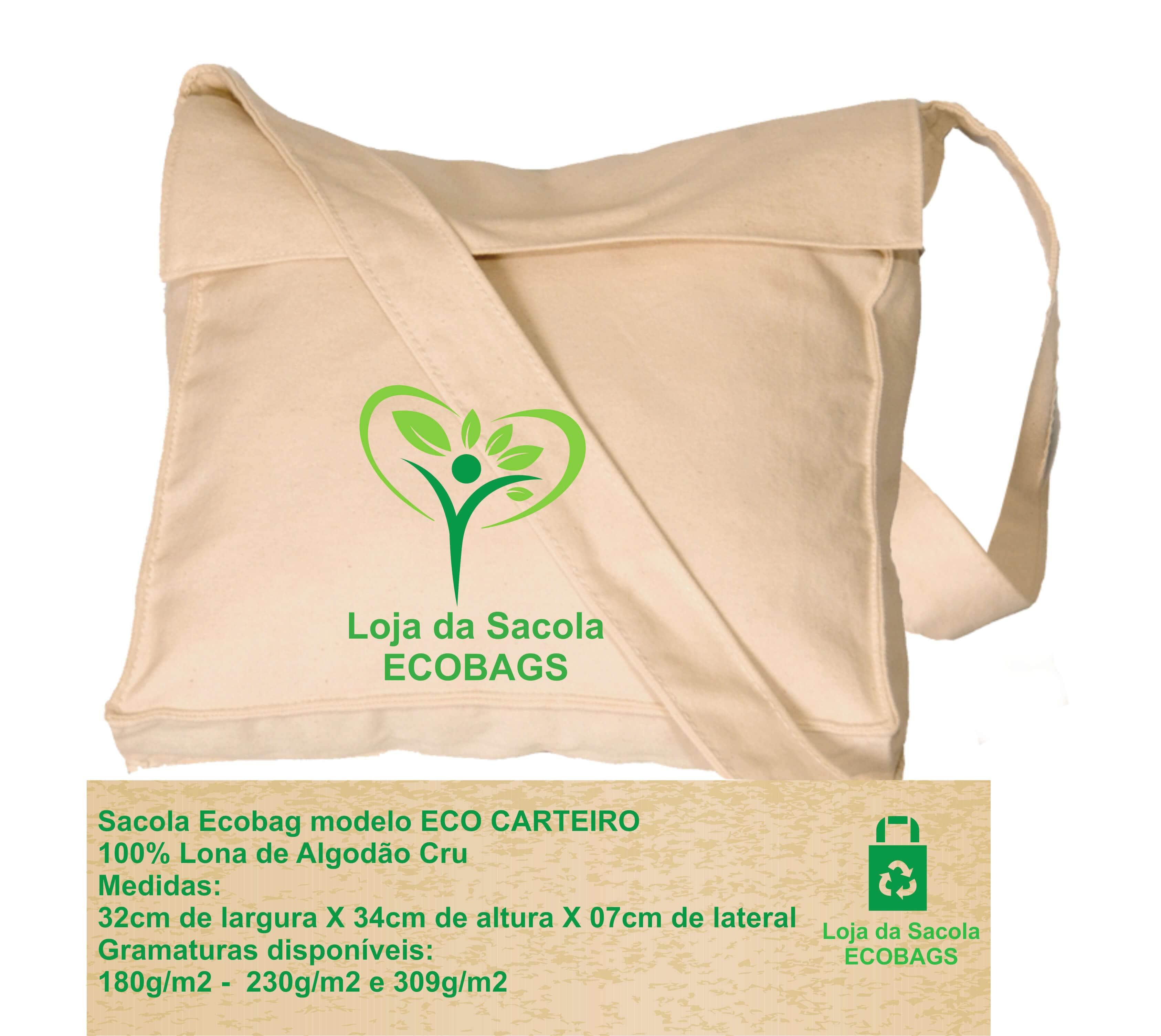Sacola Ecobag Eco Carteiro