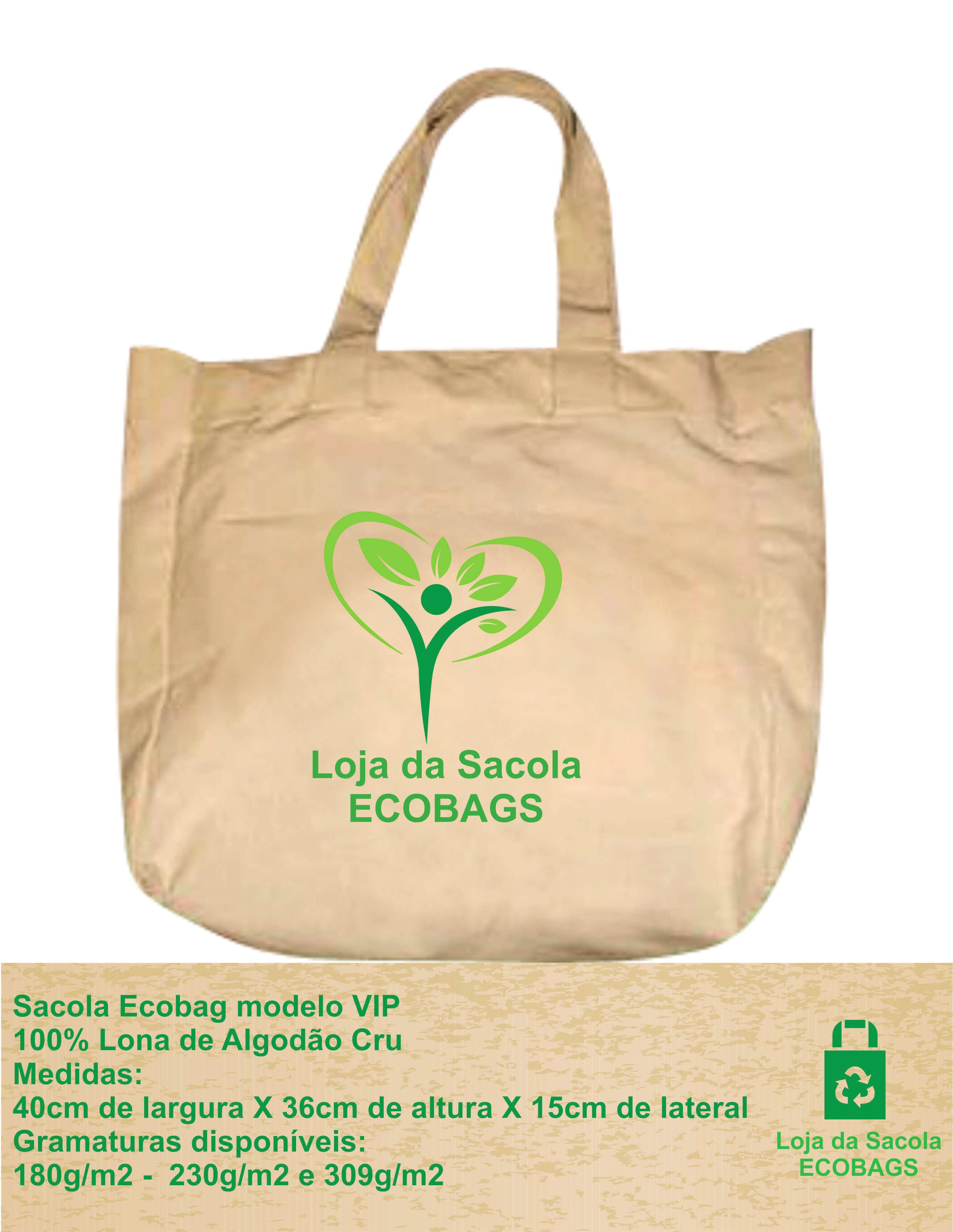 Sacola Ecobag VIP