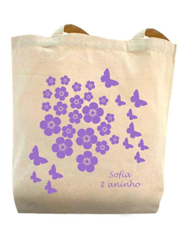 Ecobag Aniversário da Sofia
